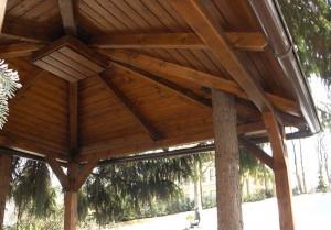 Dřevěný altán Liberec